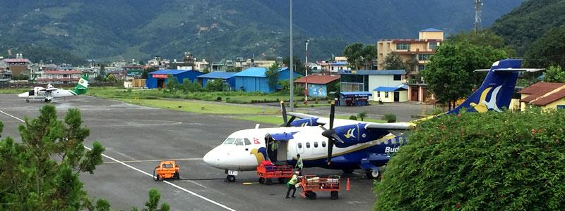 Airport in Pokhara