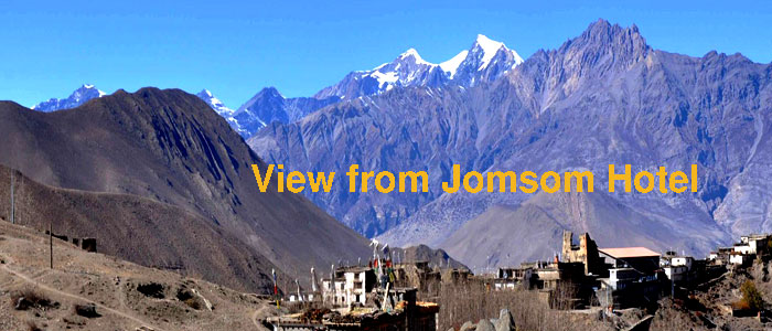 View from Jomsom