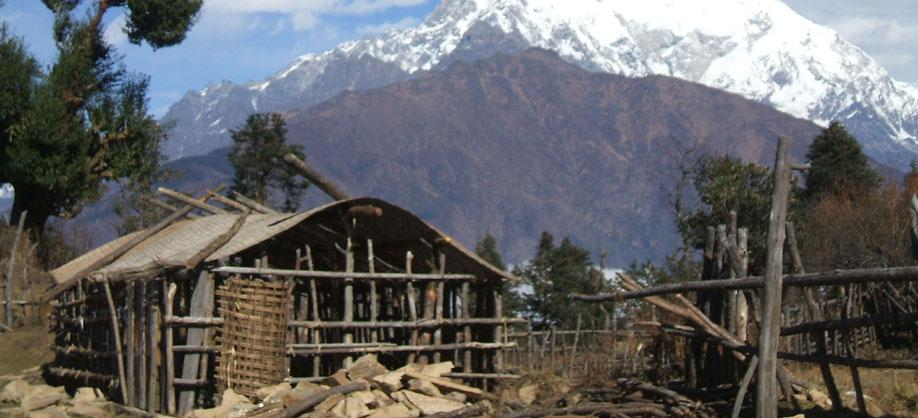 View point of Langtang Valley Trekking
