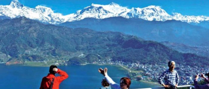 The View from Pokhara