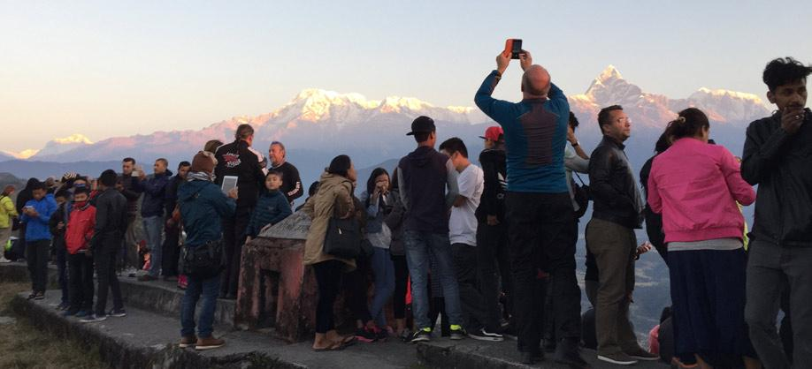 View point in Annapurna Family trekking