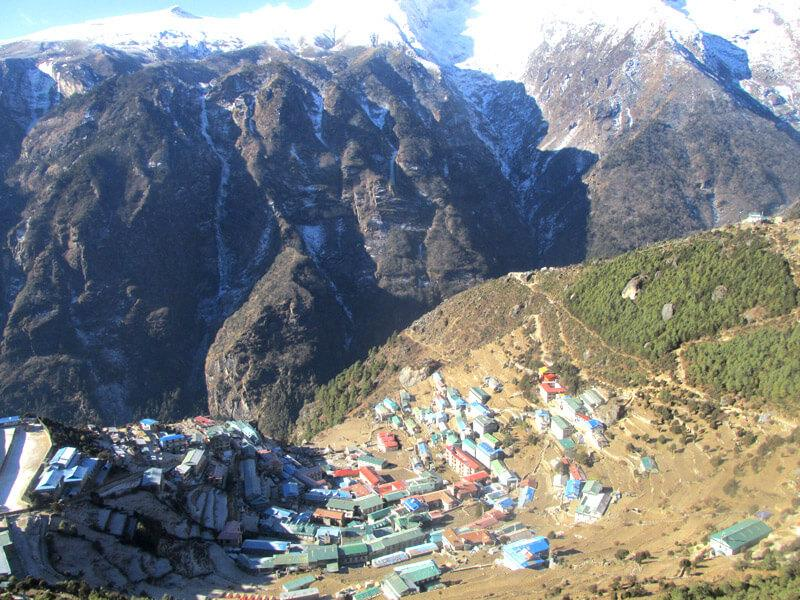 Namche Village in Everest trek