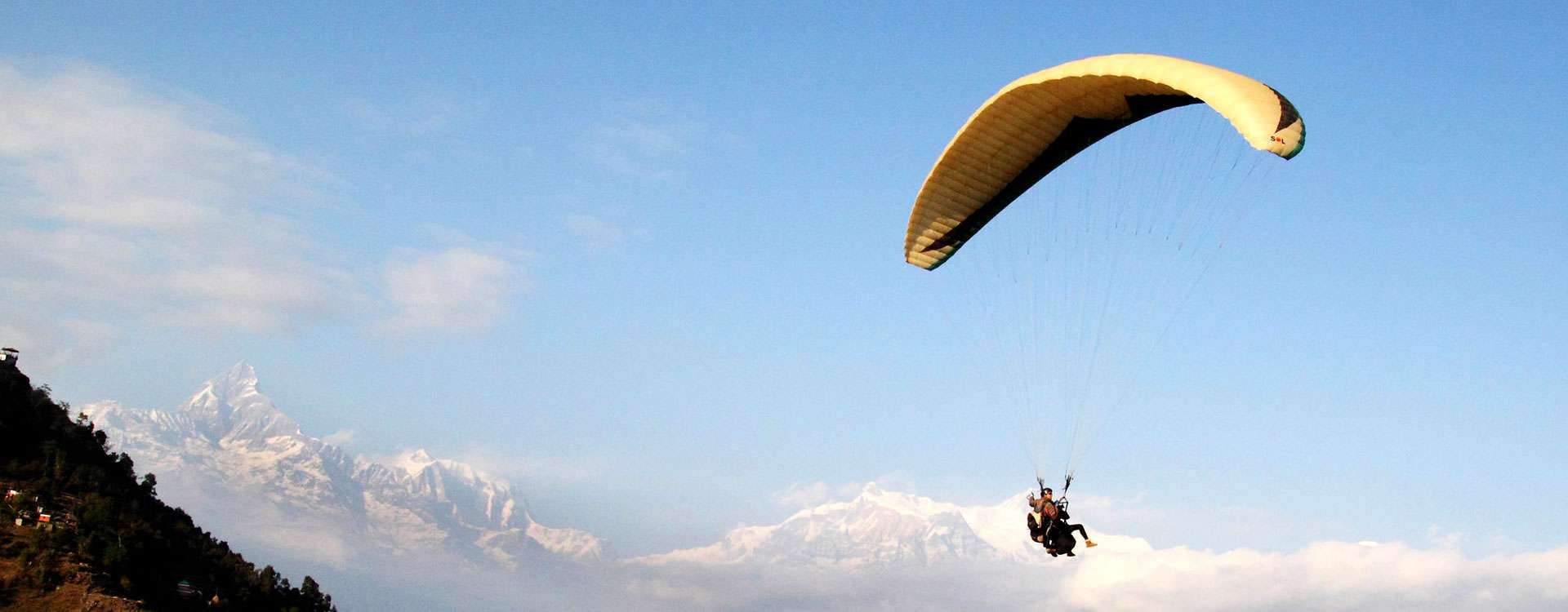 Nepal paragliding and Ultralight Tour